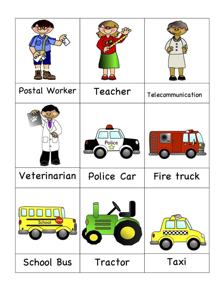 Preschool Printables: Community Helpers - so many free printables on this page.