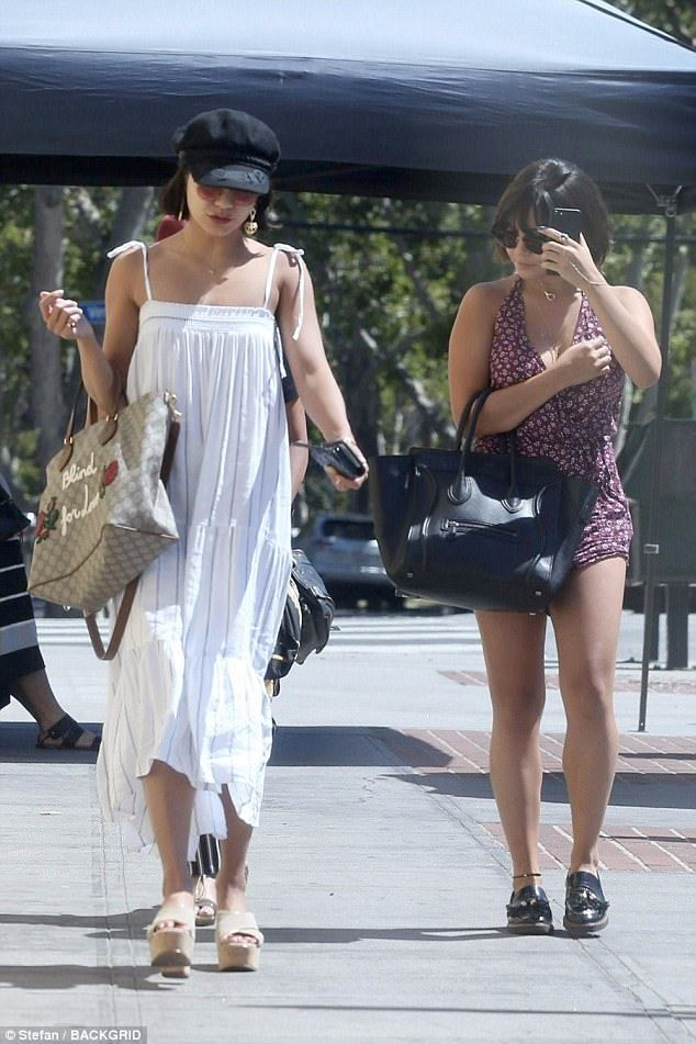 Girls day: Vanessa Hudgens enjoyed a girls day out with her sister, Stella, and their mom,...