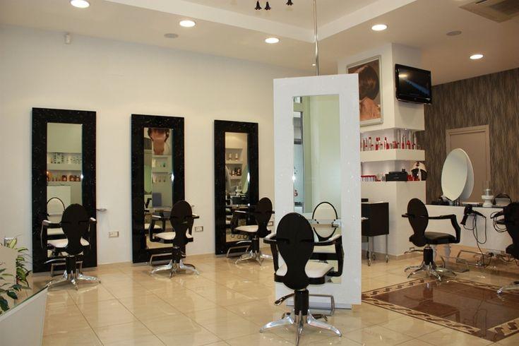 Mobiliario de peluquria y salones de belleza gamma for Espejos de diseno para salon
