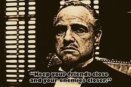 THE GODFATHER VITO CORLEONE quote poster MARLON BRANDO famous actor 24X36 Brand New. 24x36 inches. Will ship in a tube. - Multiple item purchases are combined the next day and get a discount for domes