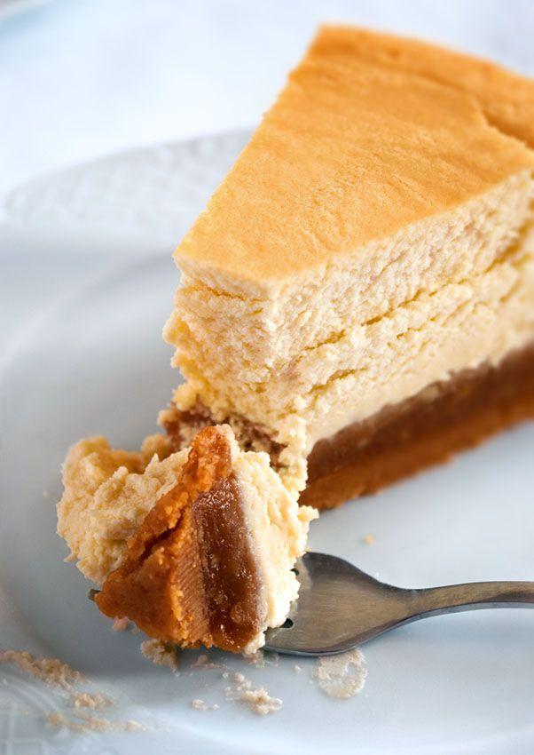 mookies: Ένα Cheseecake - Pecan Pie Cheesecake