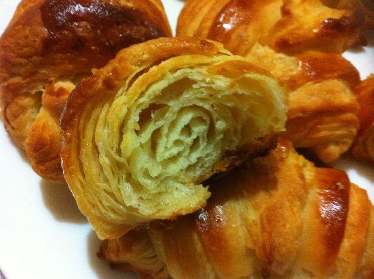 Croissants(mis primeros croissants) | Cocinar en casa es facilisimo.com