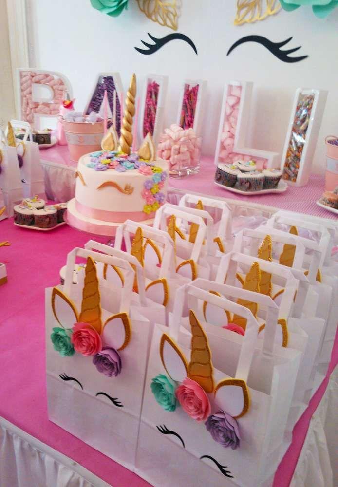 Unicorn Birthday Party Ideas Photo 1 Of 11 Unicorn Birthday Parties Spa Birthday Parties Unicorn Birthday