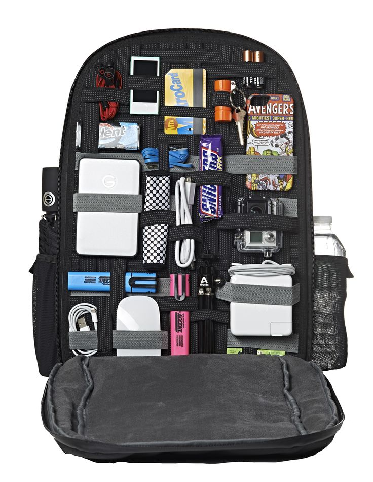 """SLIM XL 17"""" Backpack  Up To 17"""" Laptop // Grid-It pockets"""