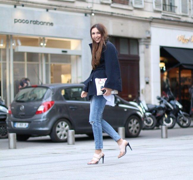 Jeans mit Löchern H&M