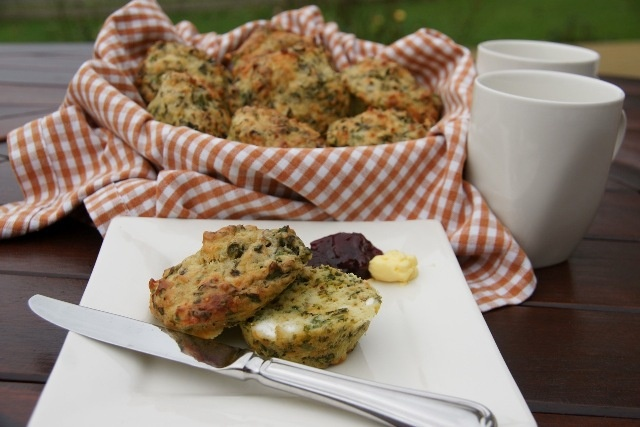 #Silverbeet #Savoury #Muffins by Mary Bielski from Iron Gates in #Manawatu, #NZ  Delish! Click on the link to see the recipe. #foodie #blog #thecountryroad #newzealand