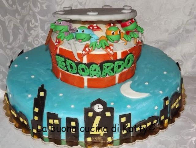 Pi di 25 fantastiche idee su compleanno tartarughe ninja for Decorazioni torte ninjago