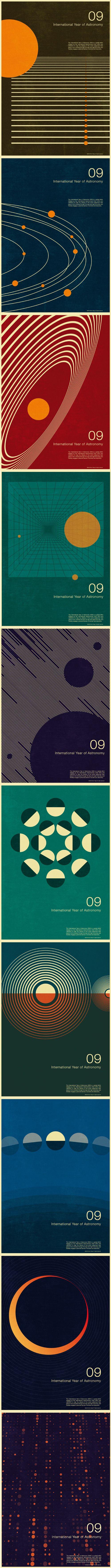 International Year of Astronomy print series, Simon C Page, 2009