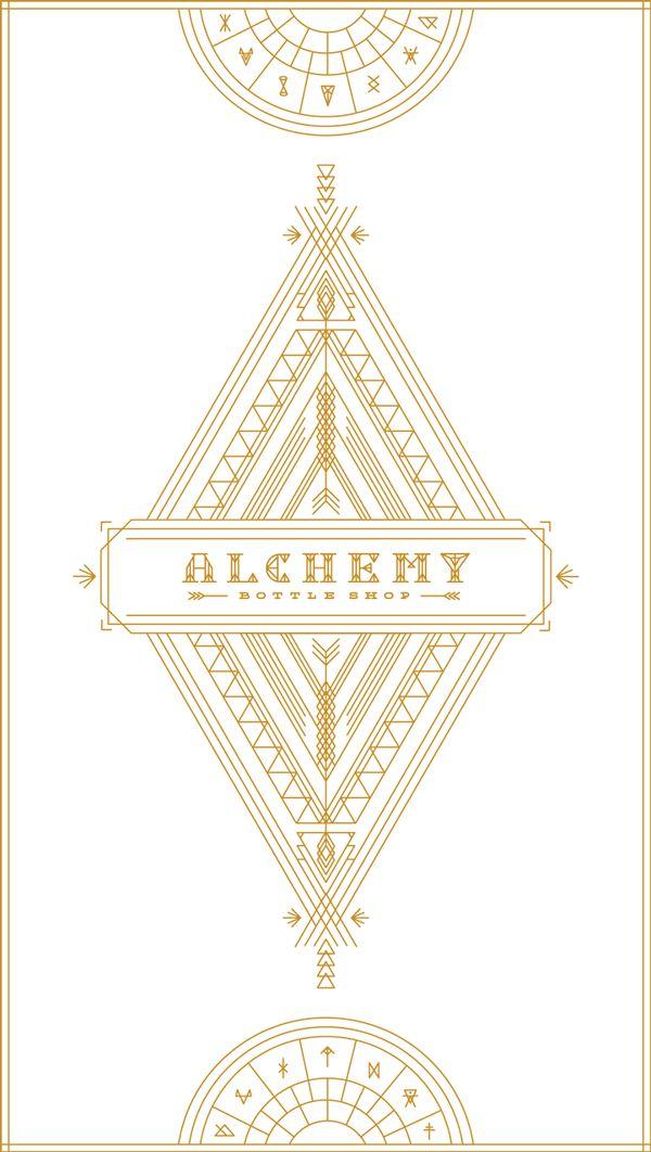 Alchemy Bottle Shop Brand + Website + Signage on Behance