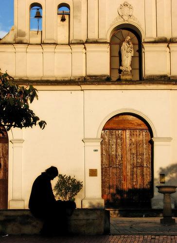Iglesia de las Aguas.  Conoce #Bogota con #Easyfly aquí www.easyfly.com.co/Vuelos/Tiquetes/vuelos-desde-bogota