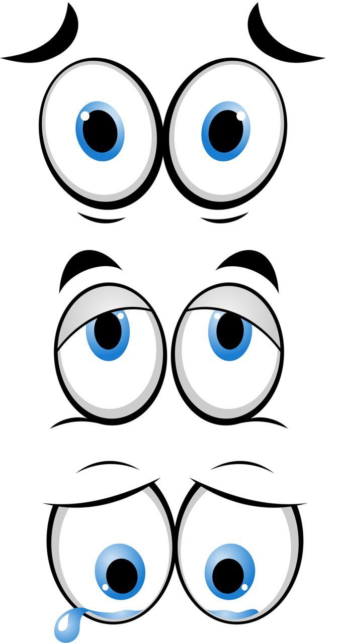 Смешные глаза картинки нарисованные
