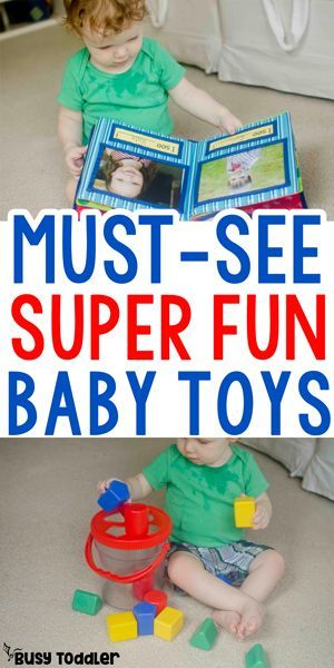 Baby Toys: A Must-See List sponsored by Lakeshore Learning