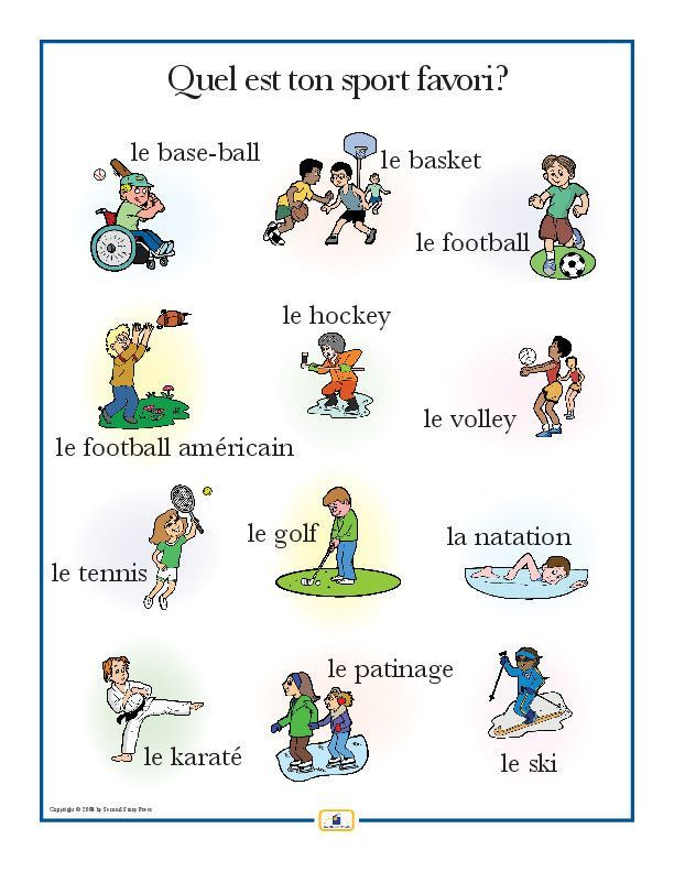 Introduce sports vocabulary with this colorful 18 x 24 in. poster that includes a free guide with teaching suggestions and practice worksheets.