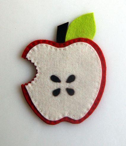 Apple magnets so cute