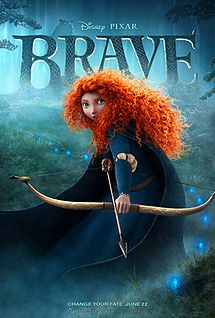 The star of the show - Merida's gorgeous mane of flaming red hair!