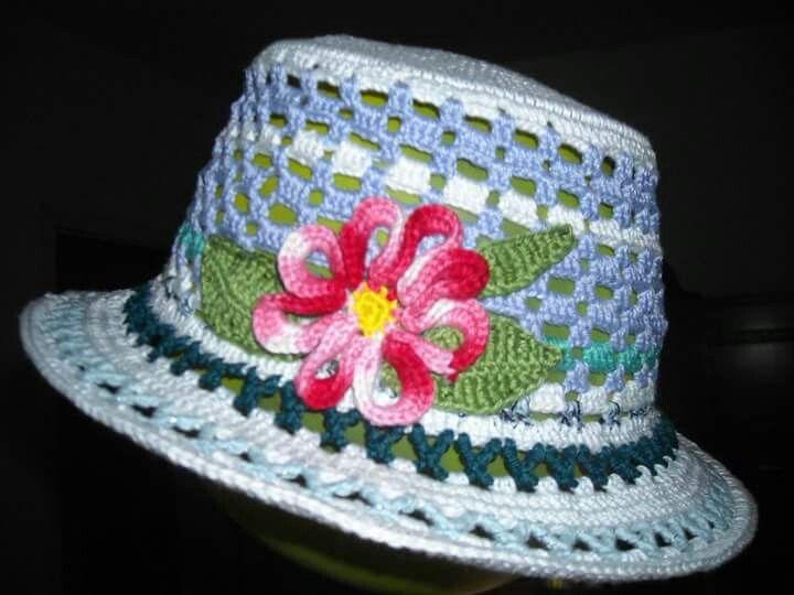 1143 best Sombreros a Crochet para Damas. images on Pinterest ...