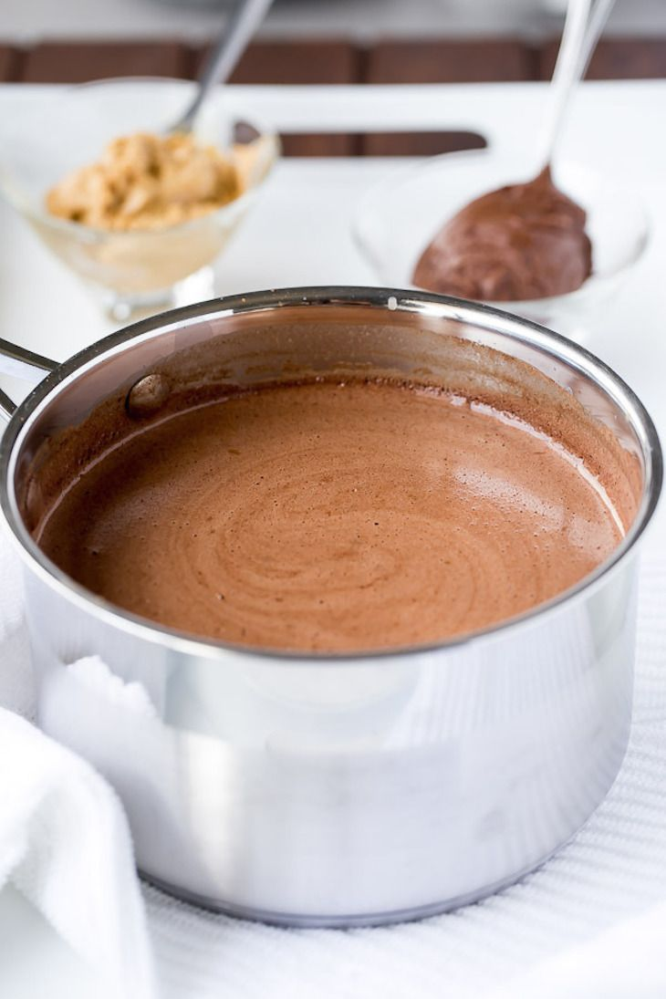This is going to be one of the best hot chocolates you have ever tried. The ingredients alone guarantee something utterly good and tasty.