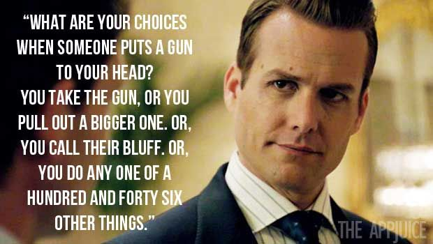 harvey specter quotes - Google zoeken