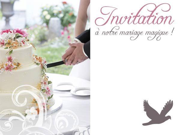faire part mariage original gratuit à imprimer - Faire Part Mariage ...