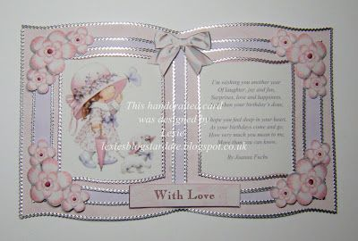 Lexie's Cards: October 2012, open book card, love it!