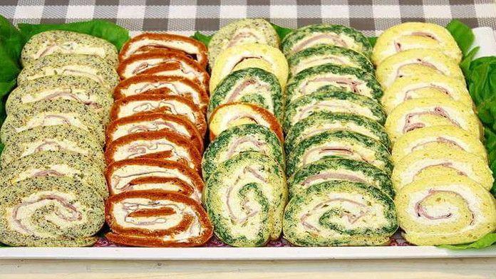 Slané rolády s famóznou chuťou – klasická, maková, papriková a špenátová! Veľkonočné pohostenie pre celú rodinu!