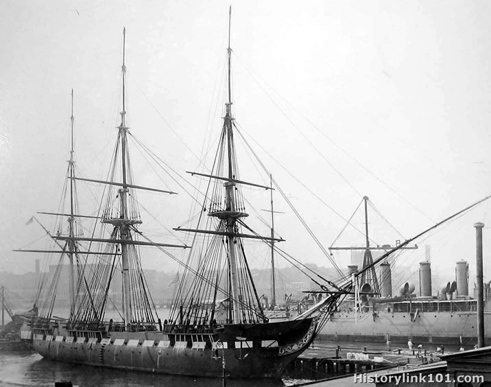 USS Constitution-1914                                                       …