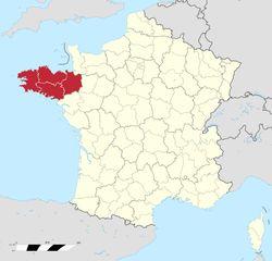 A Bretanha (em francês Bretagne, em bretão Breizh, em galo Bertaèyn) é uma região administrativa do oeste da França com uma larga costa litoral entre o Canal da Mancha e o Oceano Atlântico. Sua capital é Rennes e seus habitantes chamam-se bretões. A Bretanha é hoje em dia uma das 6 nações celtas reconhecidas pela Celtic League.