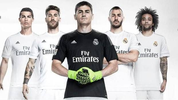 camiseta del madrid nueva temporada