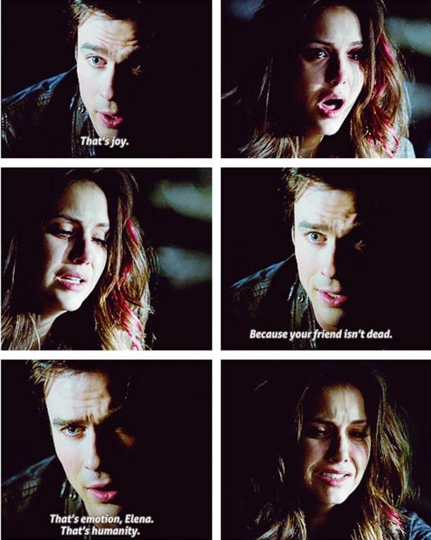 season 4 Ep 21 - Elena & Damon