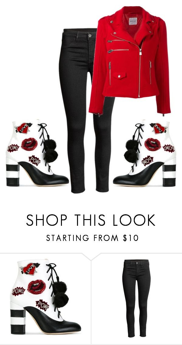 """""""kiss boots"""" by lanadaisydee ❤ liked on Polyvore featuring GEDEBE and Anine Bing"""