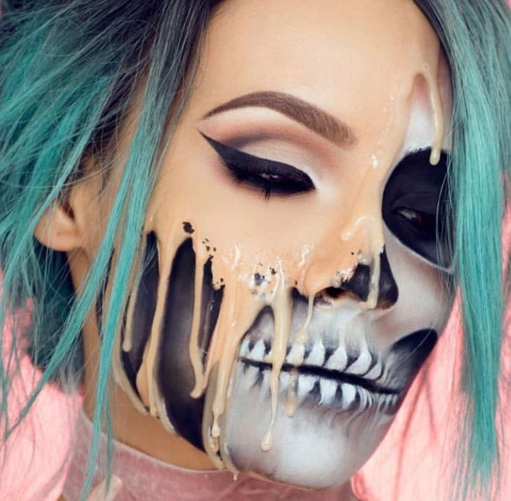 Melting face makeup - this is amazing!