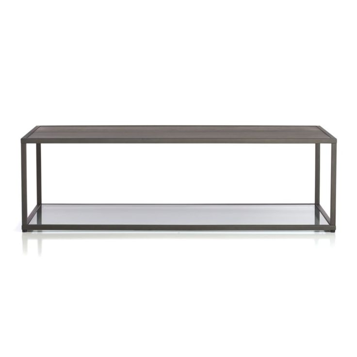 Handsome Coffee Table Leads A Double Life To Extend Decorating Options  Twofold. Cool Glass