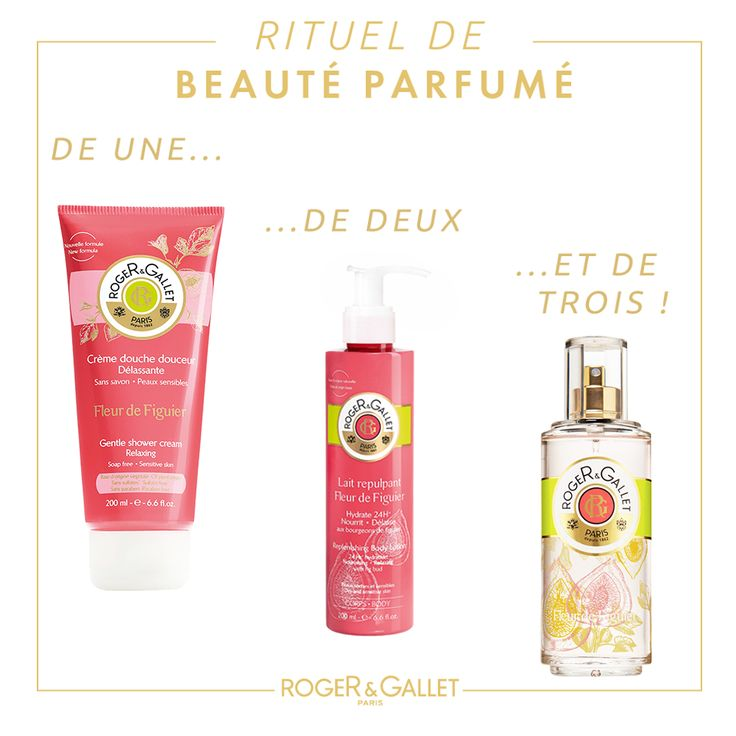 Roger and Gallet Fig collection