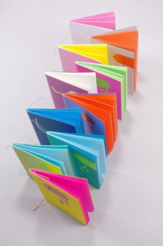 """Boutique Ephémère """"les carnets colorés"""""""