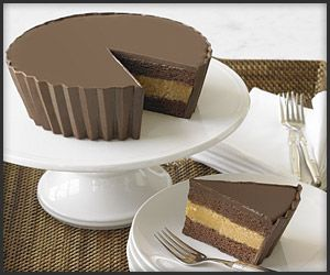 A giant Peanut Butter Cup - cake!!! Amazing!!!!!: Cup Cakes, Cupcake, Reese Cakes, Groom Cake, Cups Cakes, Chocolate Cakes, Peanut Butter Cakes, Grooms Cakes, Birthday Cakes