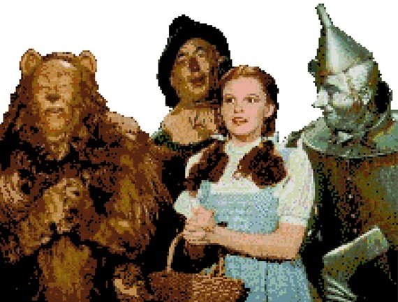 Wizard of Oz Cross Stitch~Ok... I have to have this!!