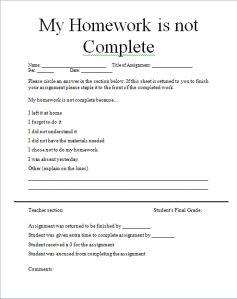 homework strategies for high school students