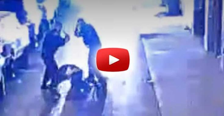 "After Cops Beat a Man like ""Rodney King"" on Video — They're Caught Bribing Witnesses Not to Talk"