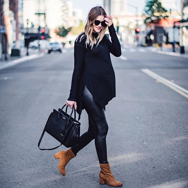 This all black maternity look will be making its way to the blog next week. Shop the details now  http://liketk.it/2pHby @liketoknow.it #liketkit  PC @henrysyoung