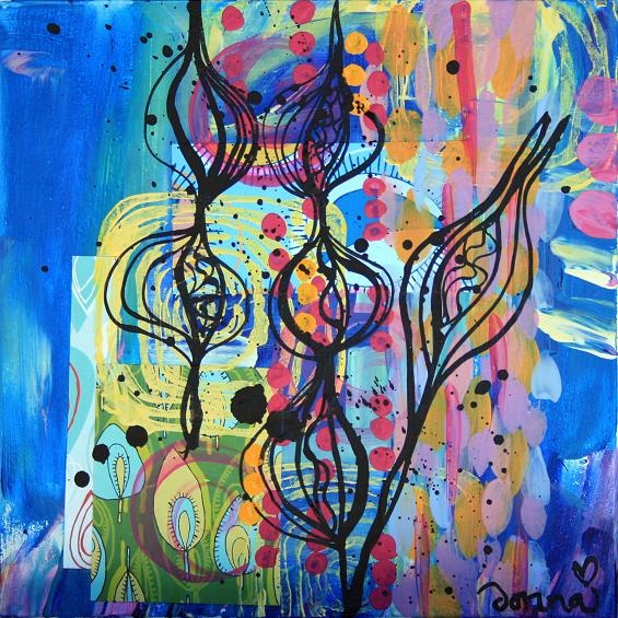 paintings: Sea Shells, Awesome Paintings, Kaleidoscope, Music Note, Art Paintings, Abstract Art, Color, Abstract Beautiful, Blues Music