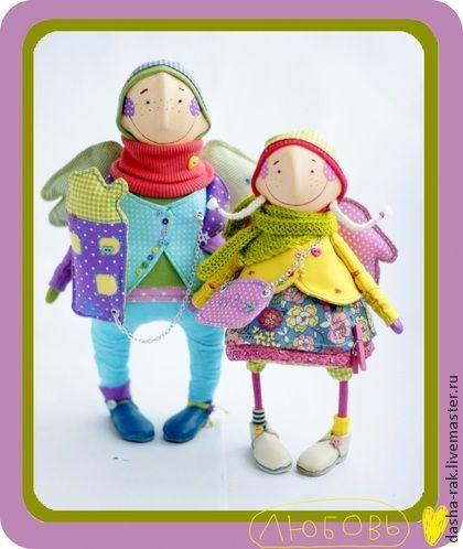 Коллекционные куклы ручной работы. Ярмарка Мастеров - ручная работа в ожидании... кодовое слово  - тата. Handmade.