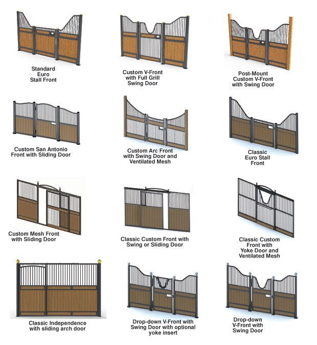 Stall Fronts. European Stall front. Horse Stalls. Stall Doors and Stall Fronts…