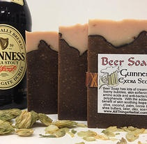 For the beer lovin dude that has everything!!!    BEER soap!