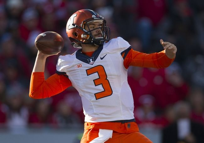 Illinois vs. Iowa - 11/19/16 College Football Pick, Odds, and Prediction