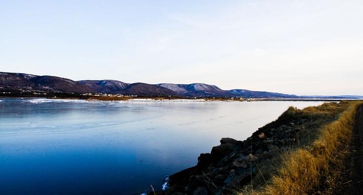 Thin ice in Cape Breton.