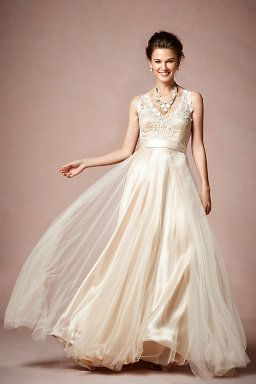 BHLDN : Onyx Gown