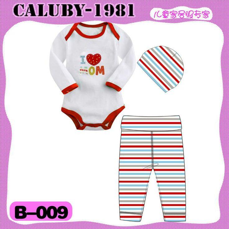 Caluby Baby 3-in-1 jumper I Love Mom stripe k-babynkids.com   Grosir Perlengkapan Bayi, Aksesoris Bayi, Mainan Bayi