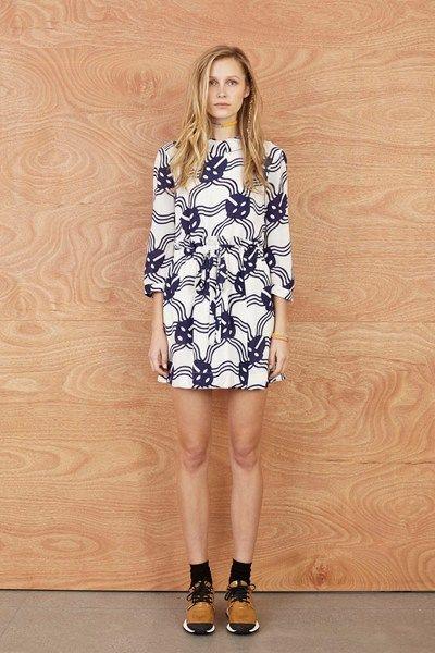 Plain Draw-In Dress