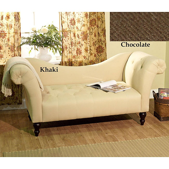 Simple Living Chloe Roll Arm Chaise - Overstock™ Shopping - Big Discounts on Simple Living Lounge Chairs : chaise lounge music - Sectionals, Sofas & Couches