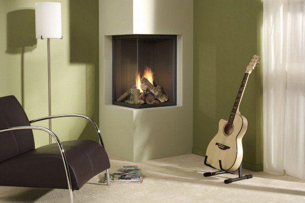 22 Ultra Modern Corner Fireplace Design Ideas: 25+ Best Ideas About Corner Fireplaces On Pinterest